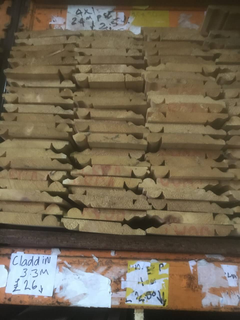 wood for skirting boards