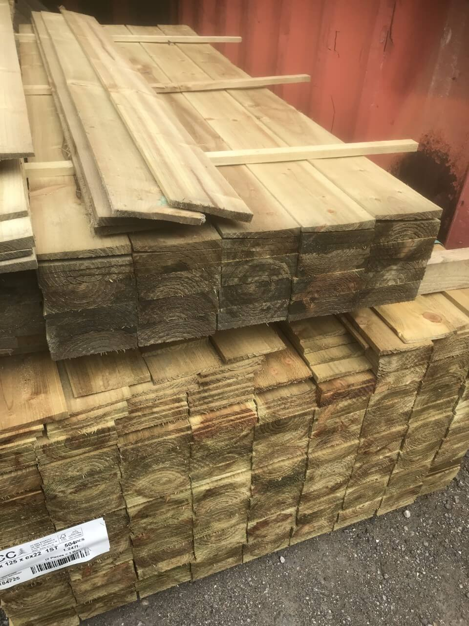 Outdoor featherd timber