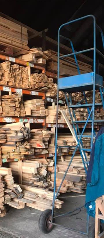 PHL timber warehouse