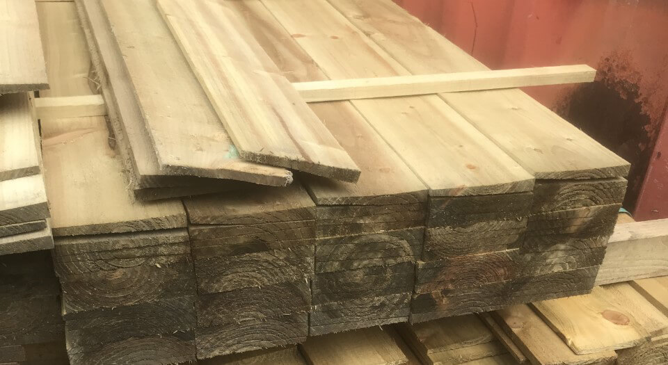 wooden sheets