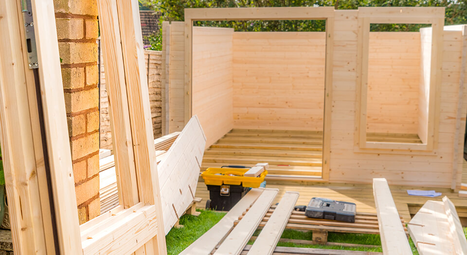 timber for a shed