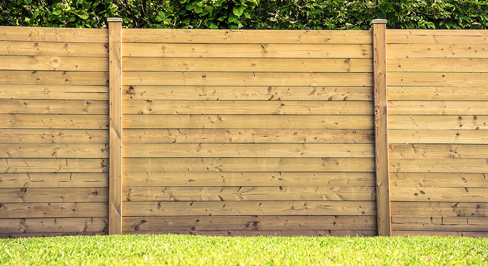 wood for a fence